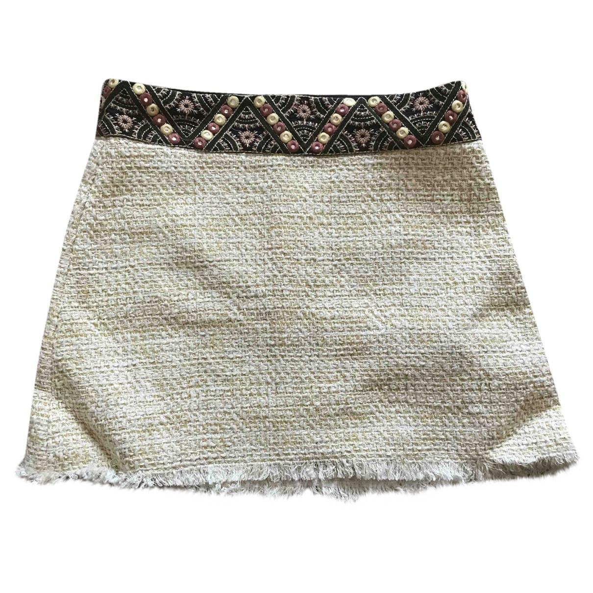 Zara \N Rocke in  Beige Baumwolle