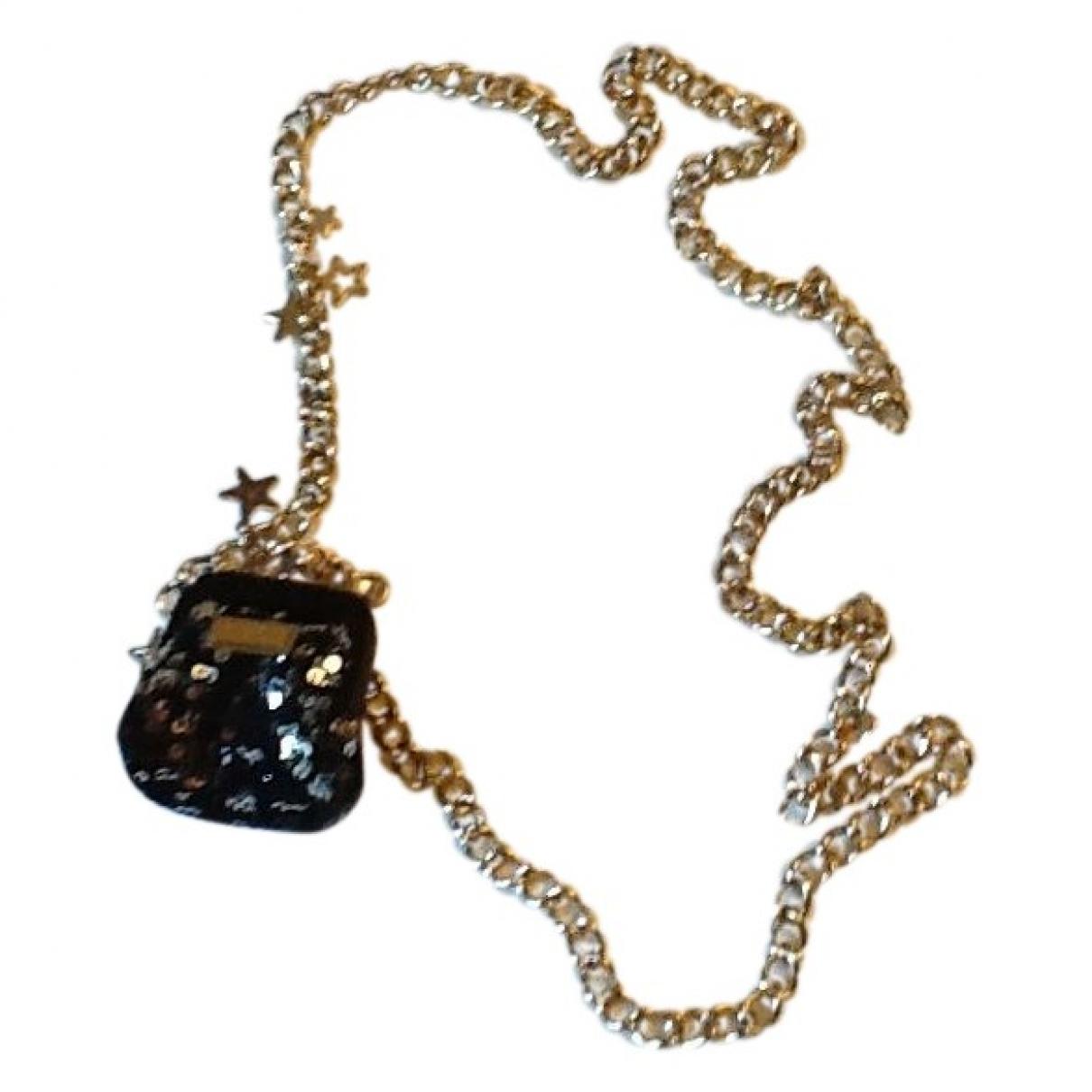 Dolce & Gabbana - Sautoir   pour femme en metal - dore