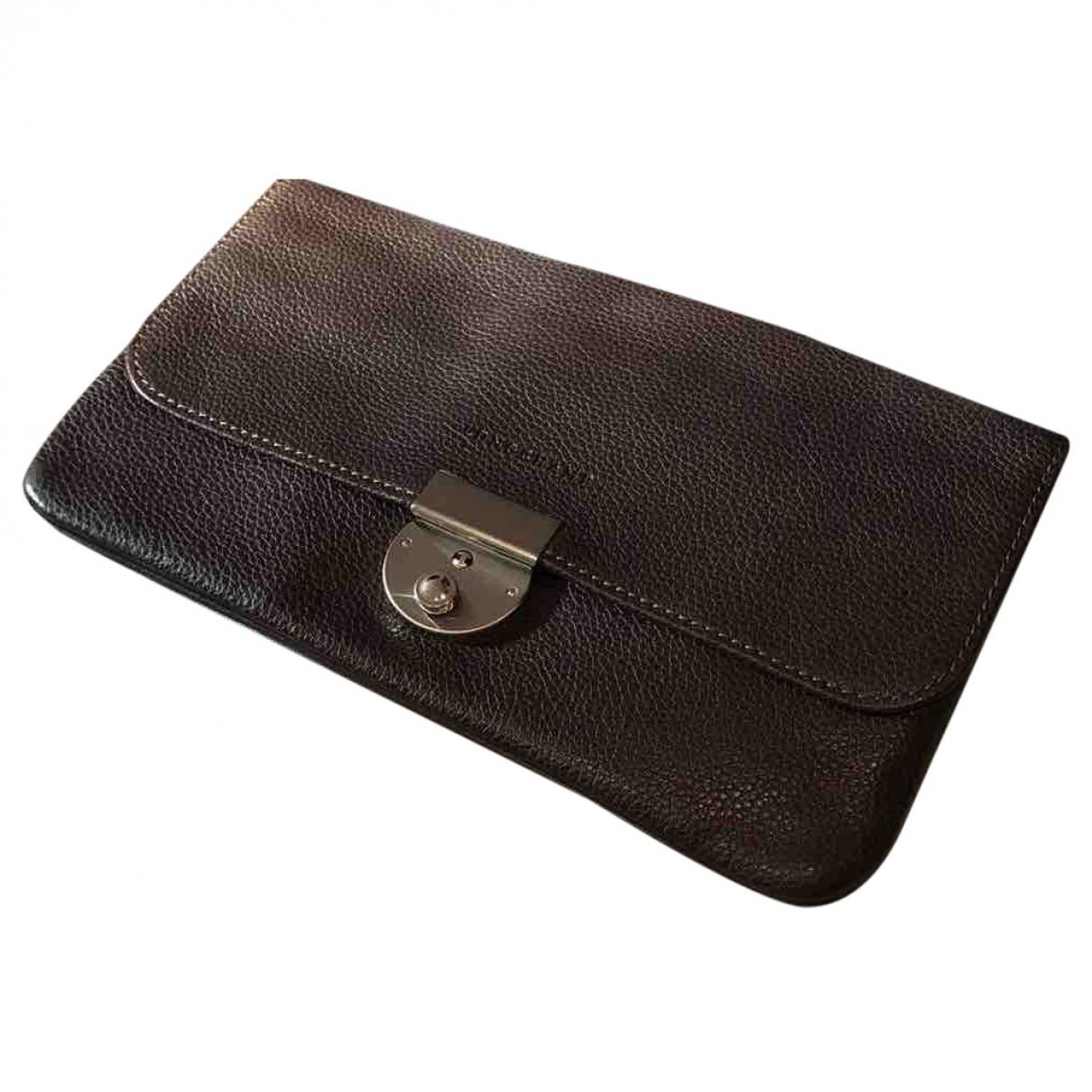 Longchamp - Petite maroquinerie   pour femme en cuir - marron