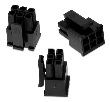 Wurth Elektronik , WR-MPC3 Female Connector Housing, 3mm Pitch, 8 Way, 2 Row (5)