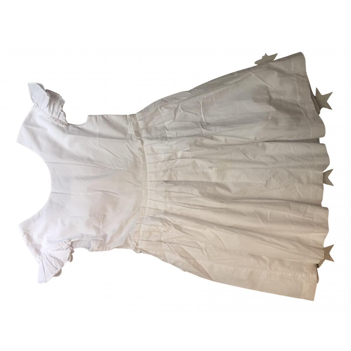 Jacadi N White Cotton dress for Kids 12 years - XS FR