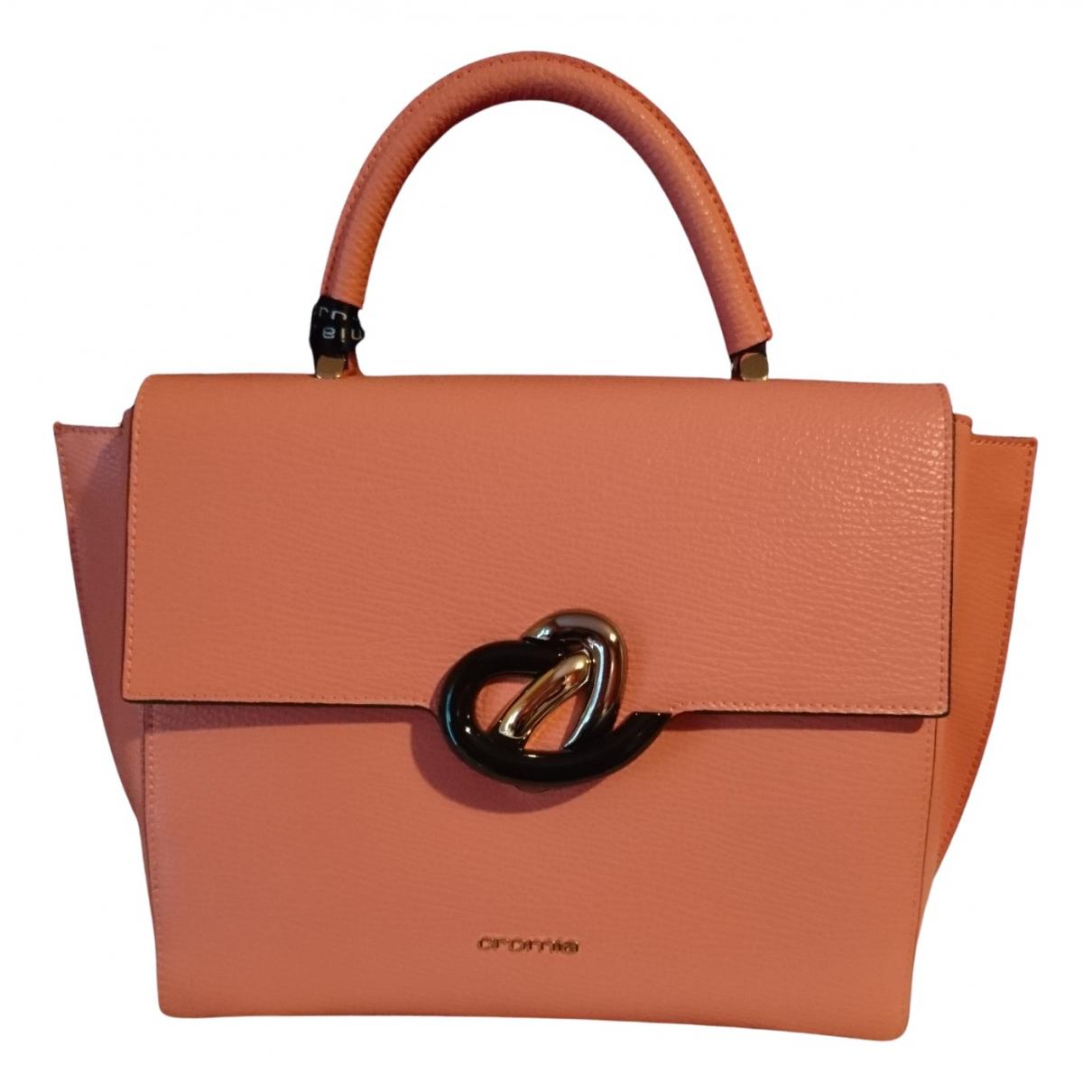 Cromia N Pink Leather handbag for Women N