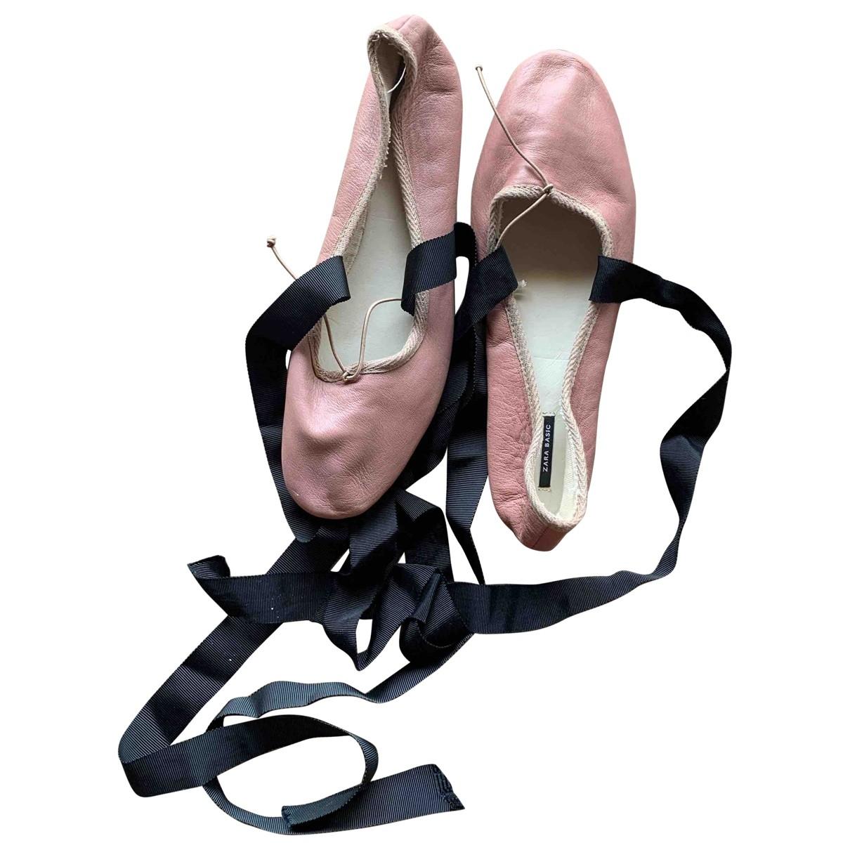 Bailarinas de Lona Zara