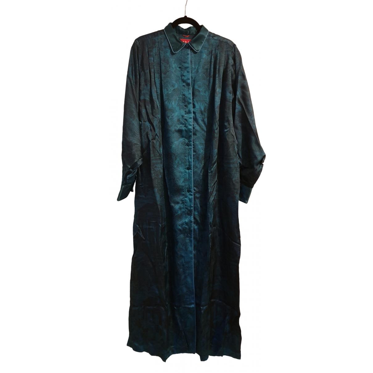 F.r.s For Restless Sleepers \N Green Silk dress for Women M International