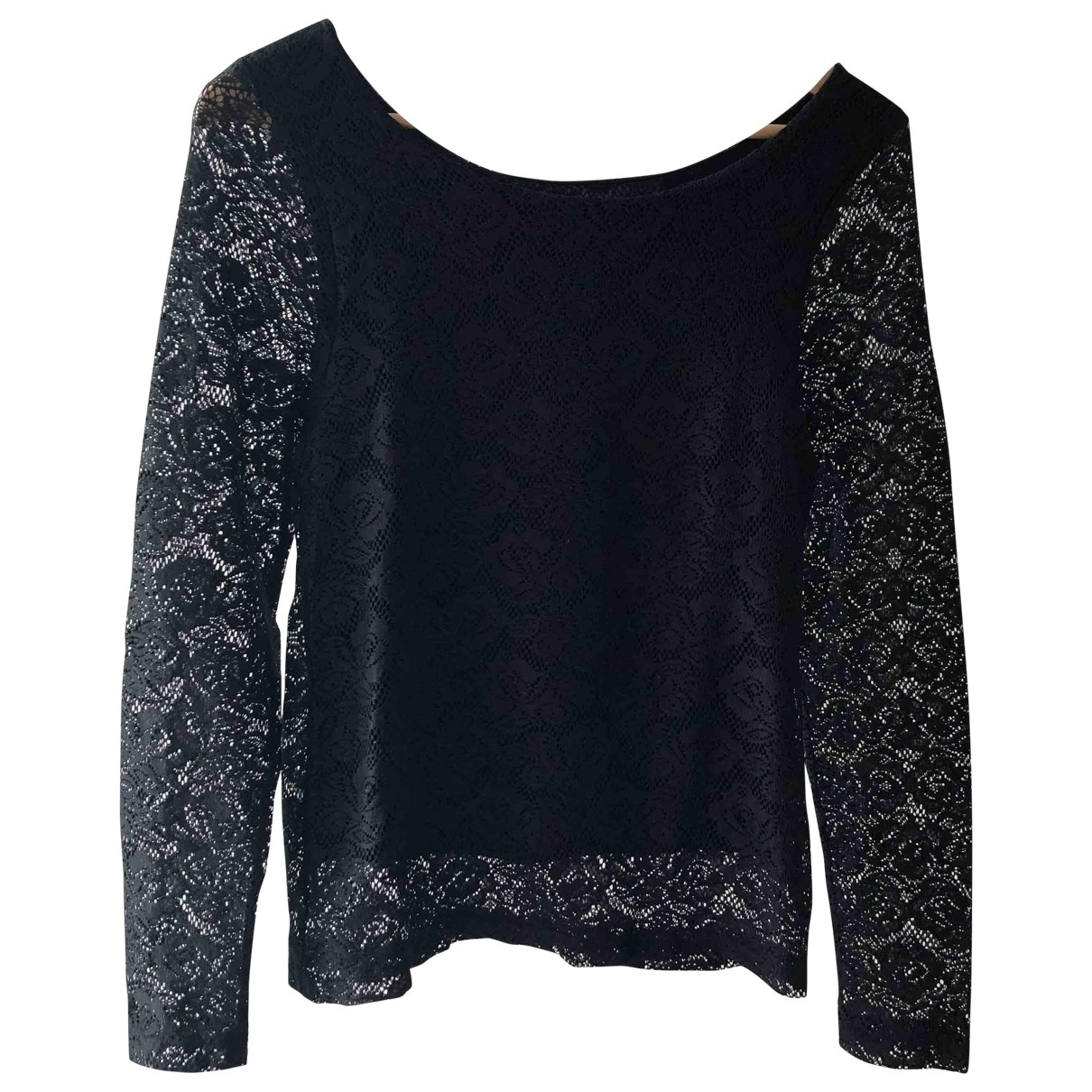 Non Signé / Unsigned \N Black Cotton  top for Women S International