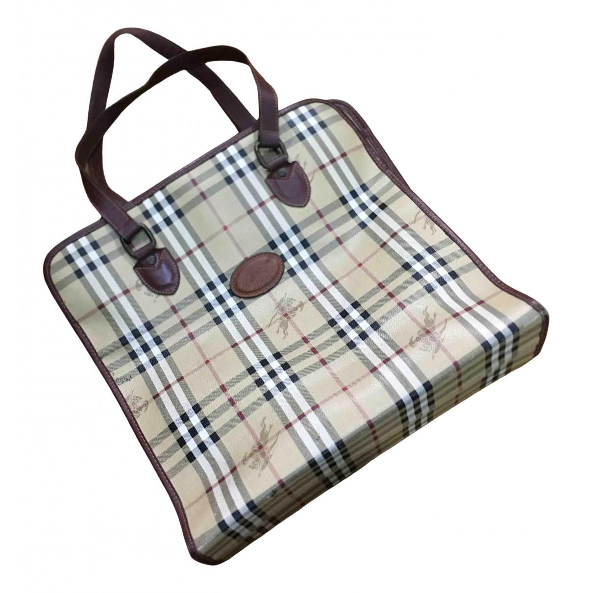 Burberry N Brown Leather bag for Men N