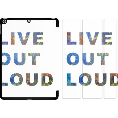 Apple iPad 9.7 (2017) Tablet Smart Case - Live Out Loud von Kaitlyn Parker