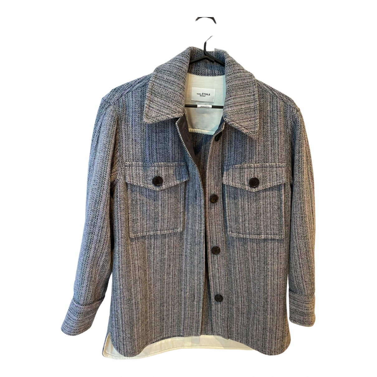 Isabel Marant Etoile N Grey Wool jacket for Women 34 FR
