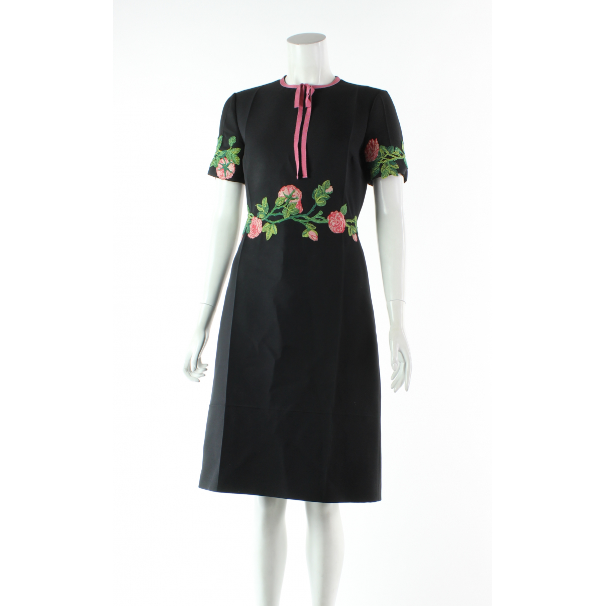 Gucci \N Black Leather dress for Women 4 US