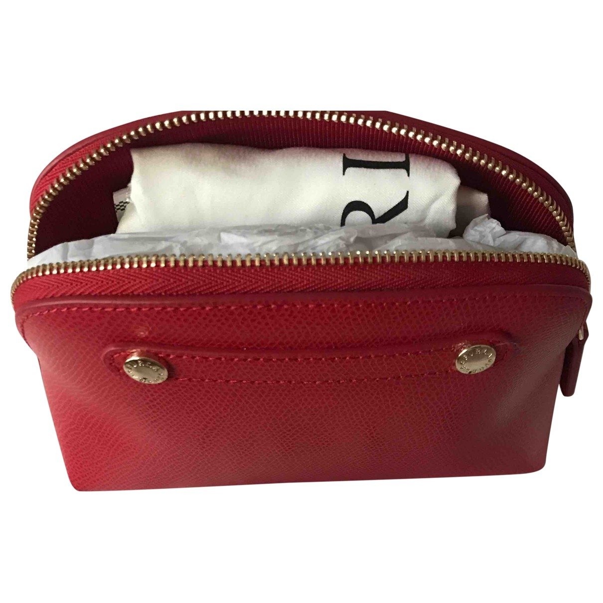 Furla \N Red Leather Purses, wallet & cases for Women \N