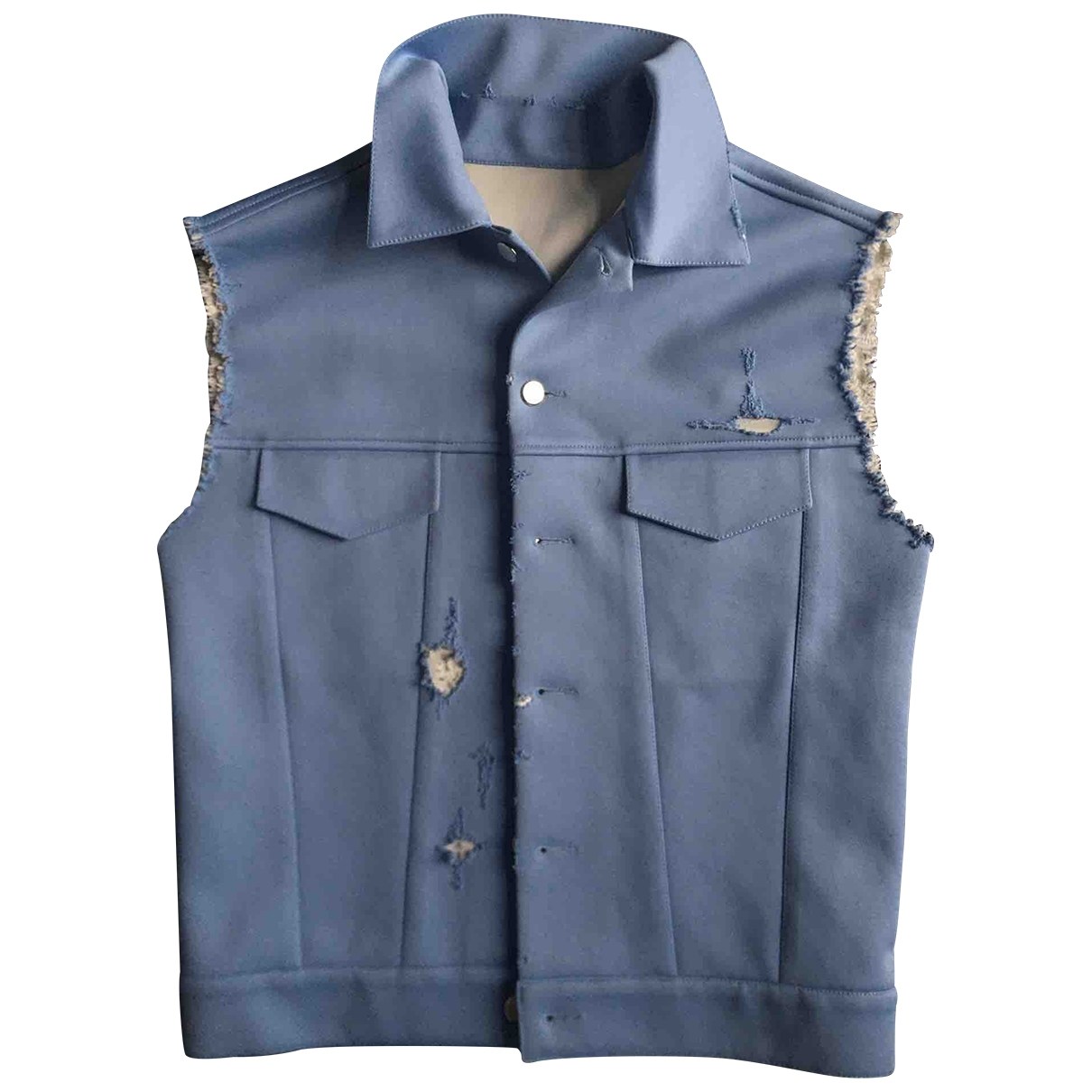 Non Signé / Unsigned \N Blue jacket  for Men M International
