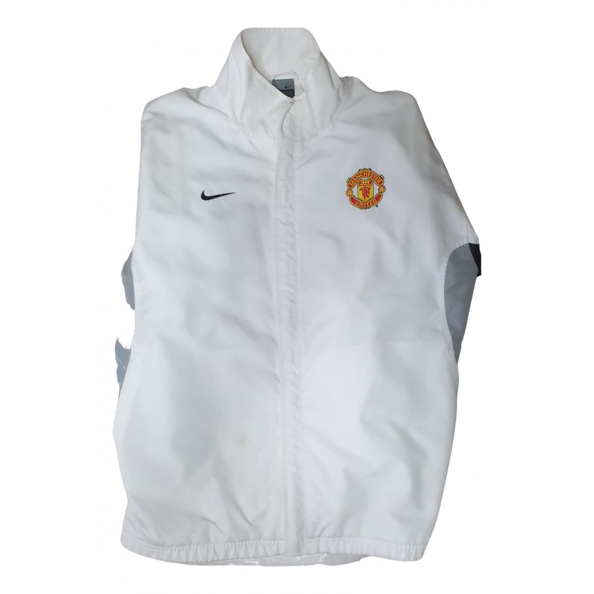 Nike \N Jacke in  Weiss Baumwolle
