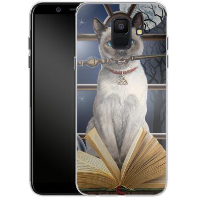 Samsung Galaxy A6 Silikon Handyhuelle - Hocus Pocus von Lisa Parker