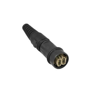 Bulgin , 6000, LC Multimode Duplex Fibre Optic Connector, OM1 (5)