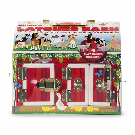 Melissa & Doug Latches Barn, One Size , Multiple Colors