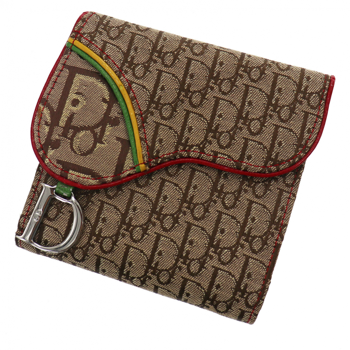 Christian Dior \N Portemonnaie in Leder