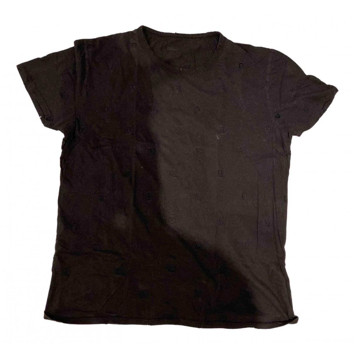 Zadig & Voltaire \N Black Cotton T-shirts for Men S International