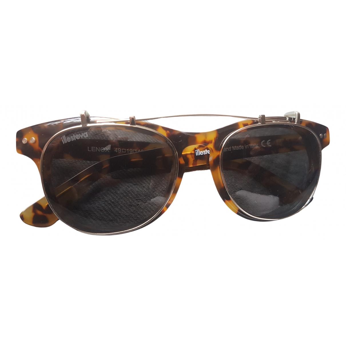 Illesteva N Brown Sunglasses for Men N