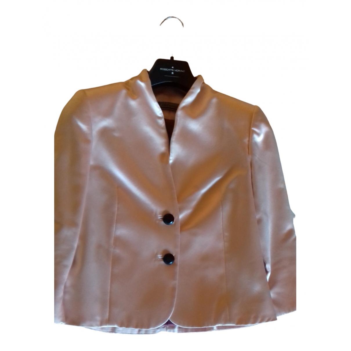 - Veste   pour femme en soie - rose