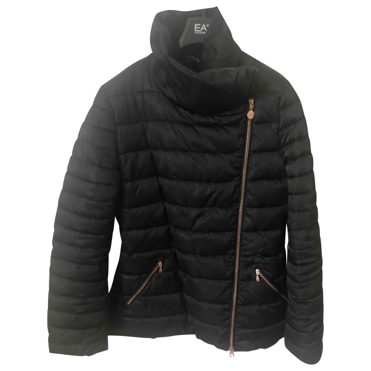 Emporio Armani \N Black coat for Women 42 IT