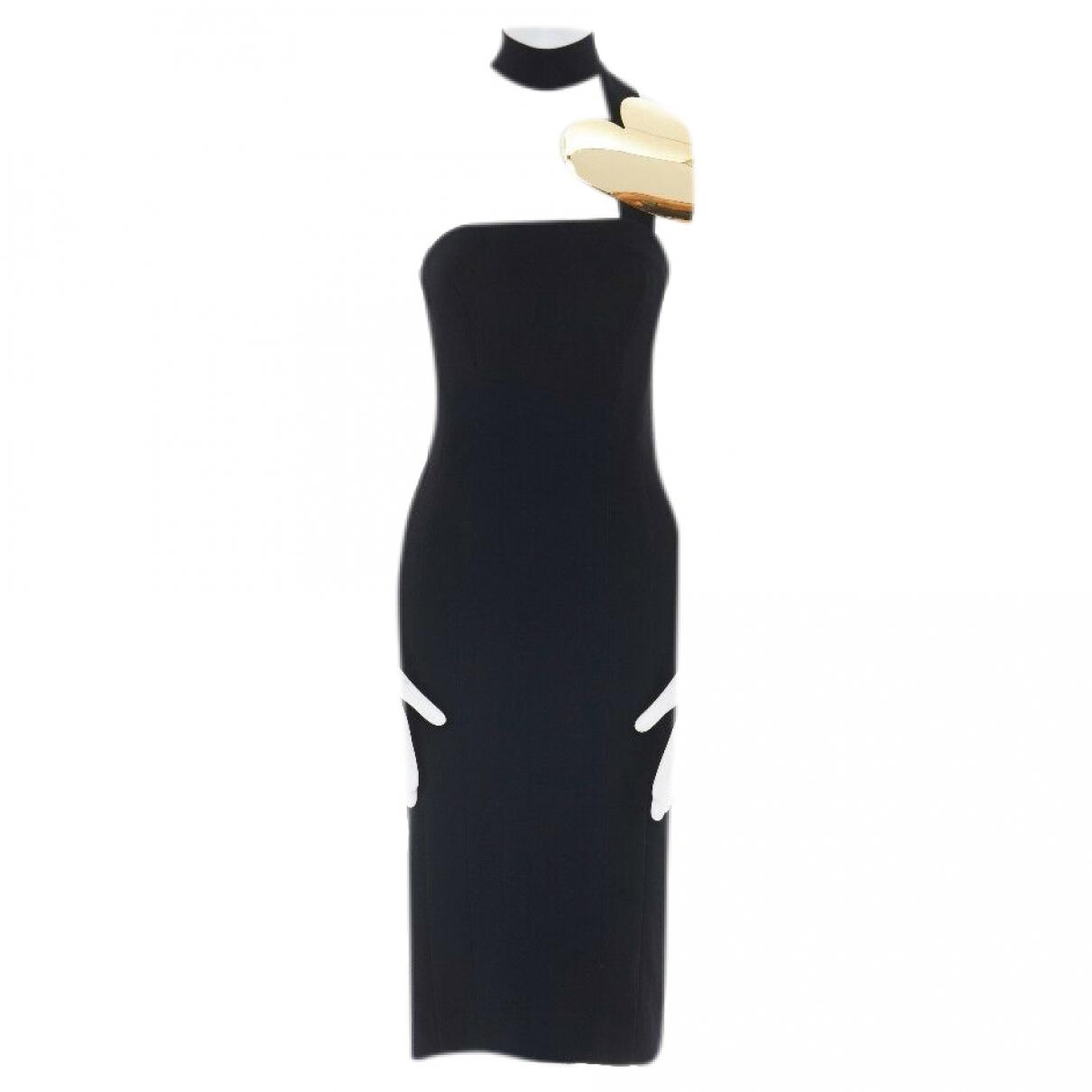 Burberry \N Black Silk dress for Women 6 UK