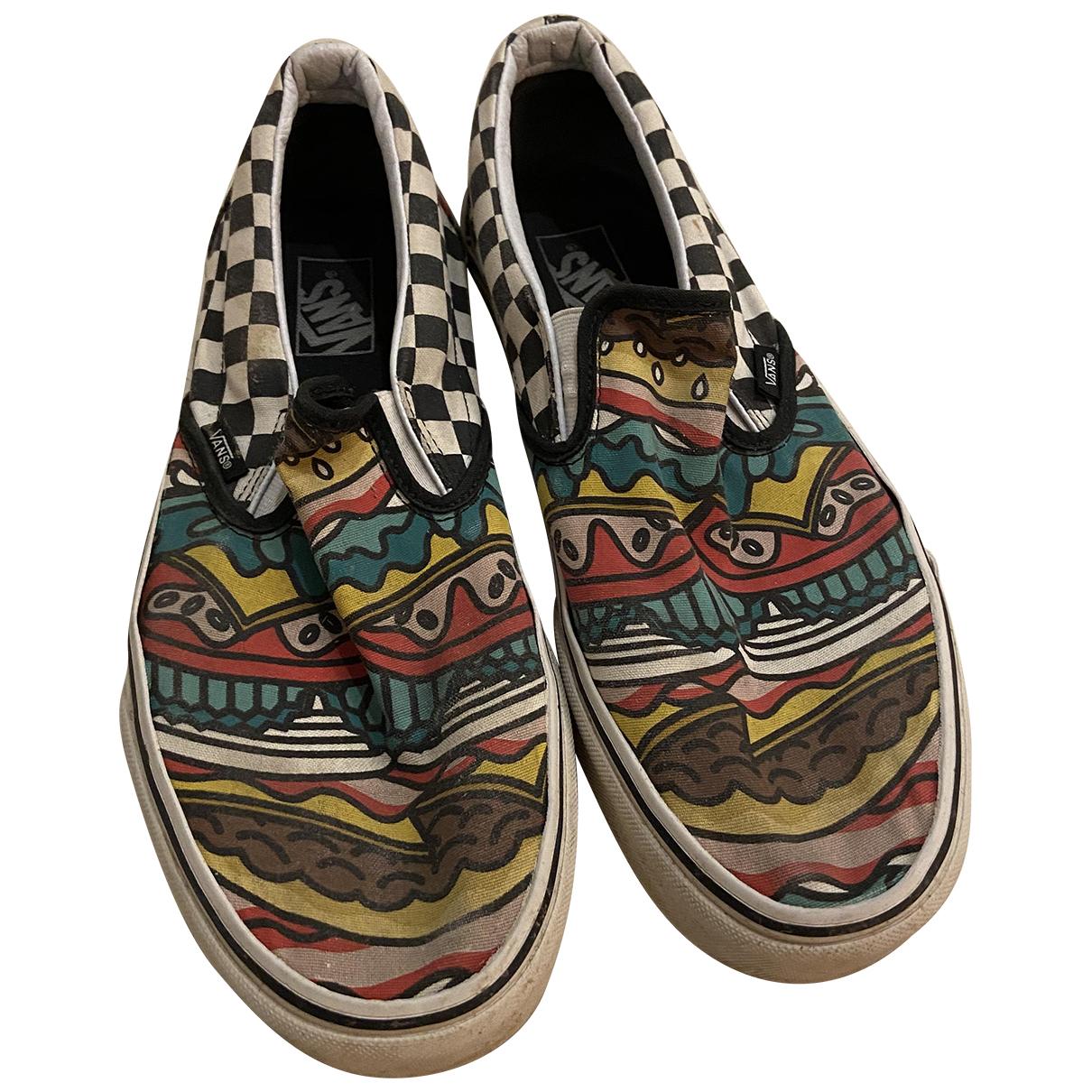 Vans \N Sneakers in  Bunt Kautschuk