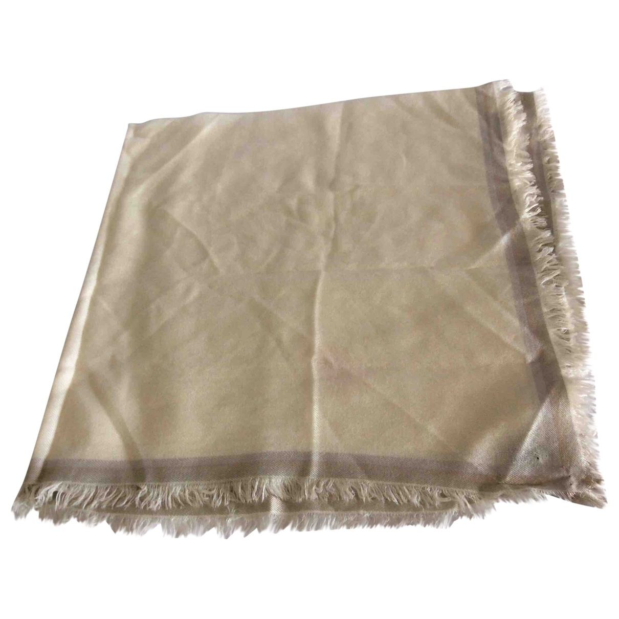 Loro Piana - Foulard   pour femme en cachemire - beige