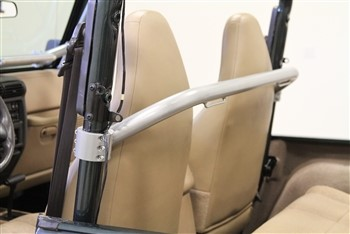 Rockhard 4x4 RH-1010-B RH-1010 Hoop Unpainted Front Seat Harness Bar Jeep C5 55-75