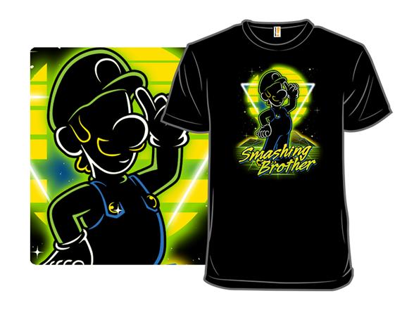 Retro Smashing Brother T Shirt