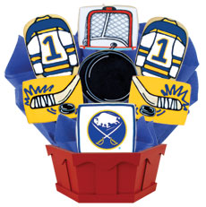 NHL Buffalo Sabres Cookie Bouquet