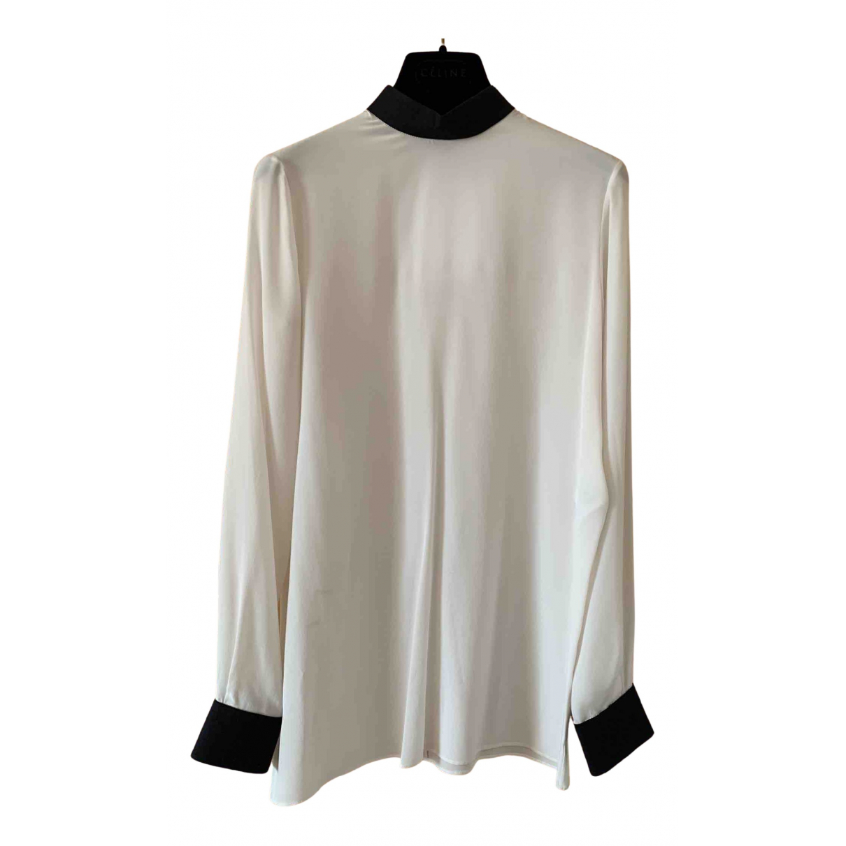 Givenchy N White Silk  top for Women 36 FR