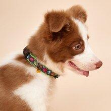 Hund Halsband mit Pfote Muster