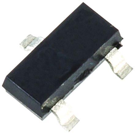 Toshiba , RN1402,LF(T NPN Digital Transistor, 100 mA 50 V 10 kΩ, Ratio Of 1, Single, 3-Pin SOT-23 (200)