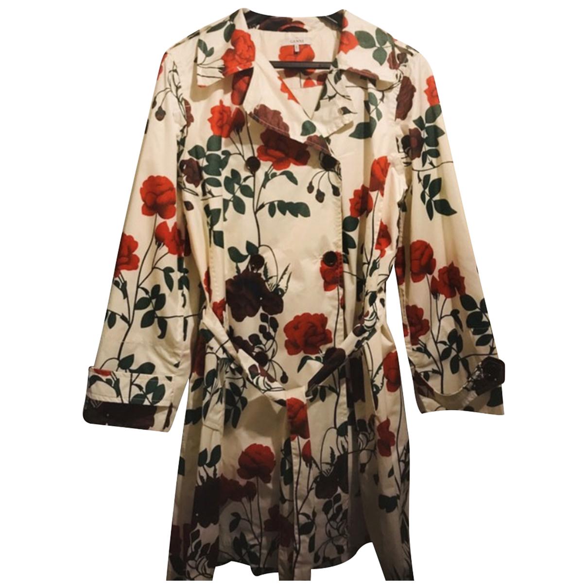 Ganni - Manteau   pour femme - multicolore