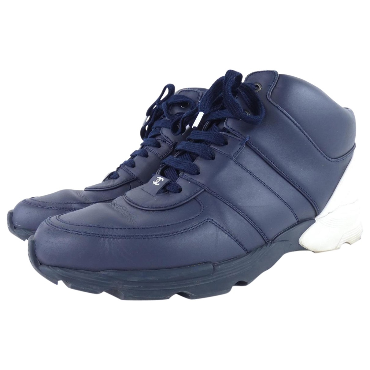 Chanel \N Blue Cloth Trainers for Men 43 EU