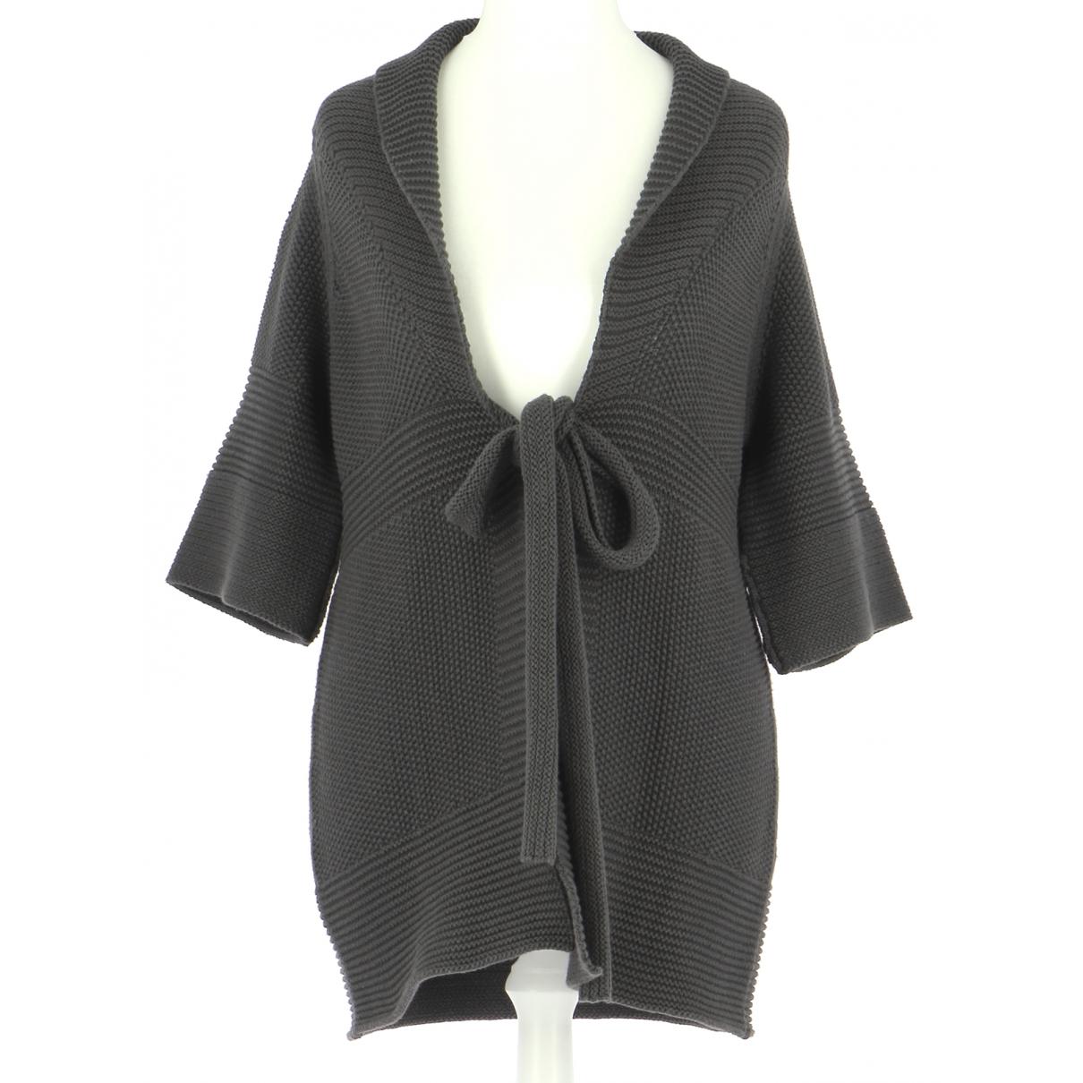 Comptoir Des Cotonniers \N Pullover.Westen.Sweatshirts  in  Grau Baumwolle