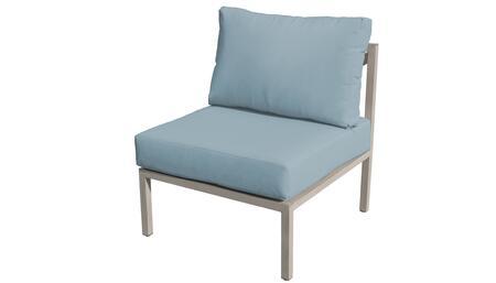 TKC065b-AS-SPA Carlisle Armless Chair - Beige and Spa