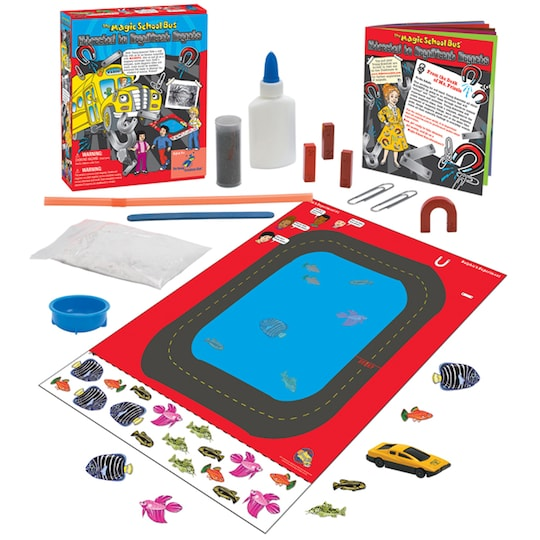 The Magic School Bus™: Attracted To Magnificent Magnets By The Magic Schoolbus   Michaels®