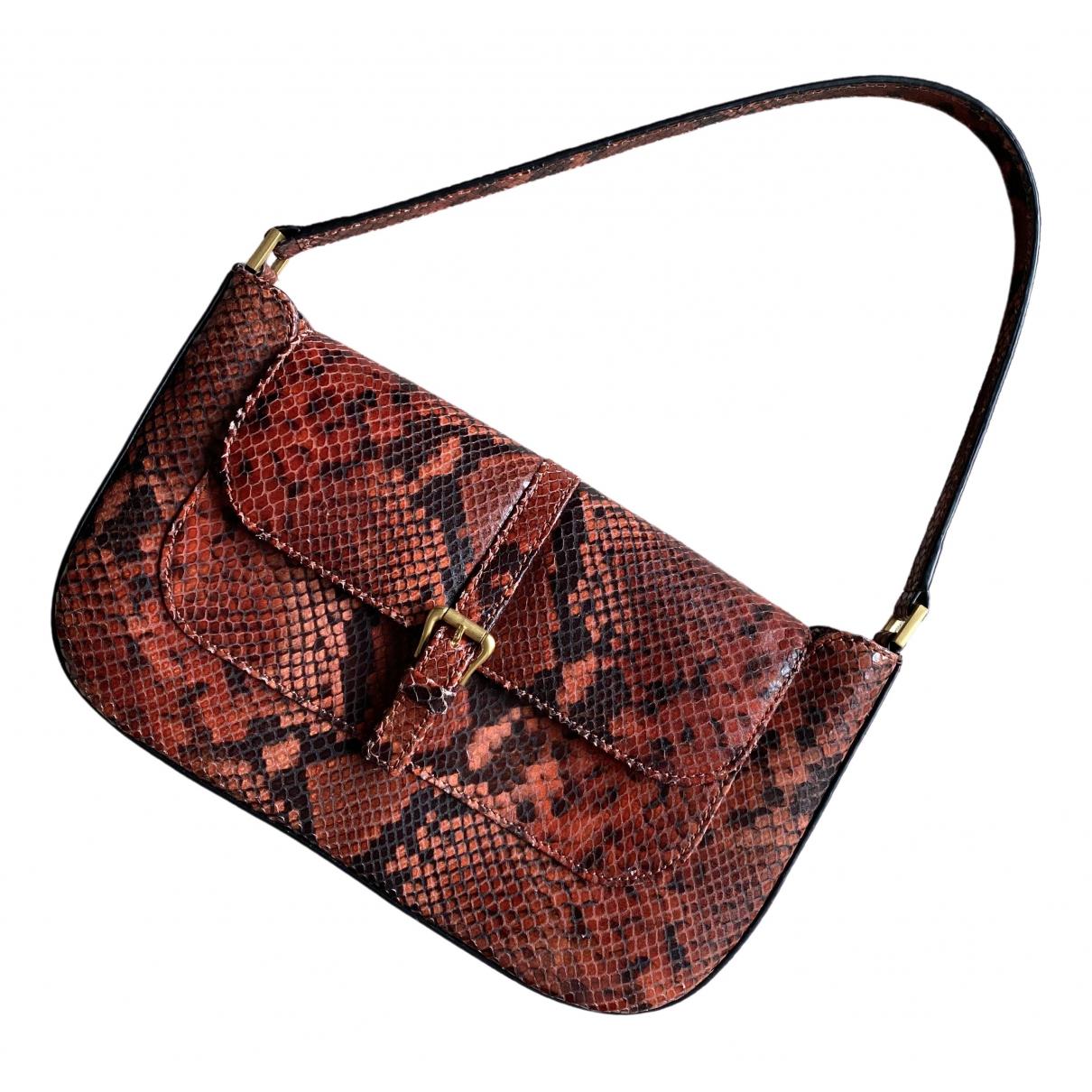 By Far Miranda Burgundy Leather handbag for Women \N