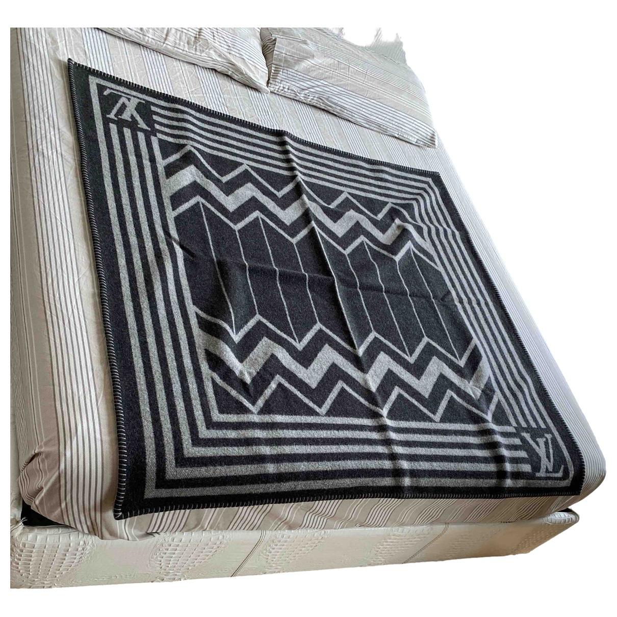 Louis Vuitton - Linge de maison   pour lifestyle en laine - gris