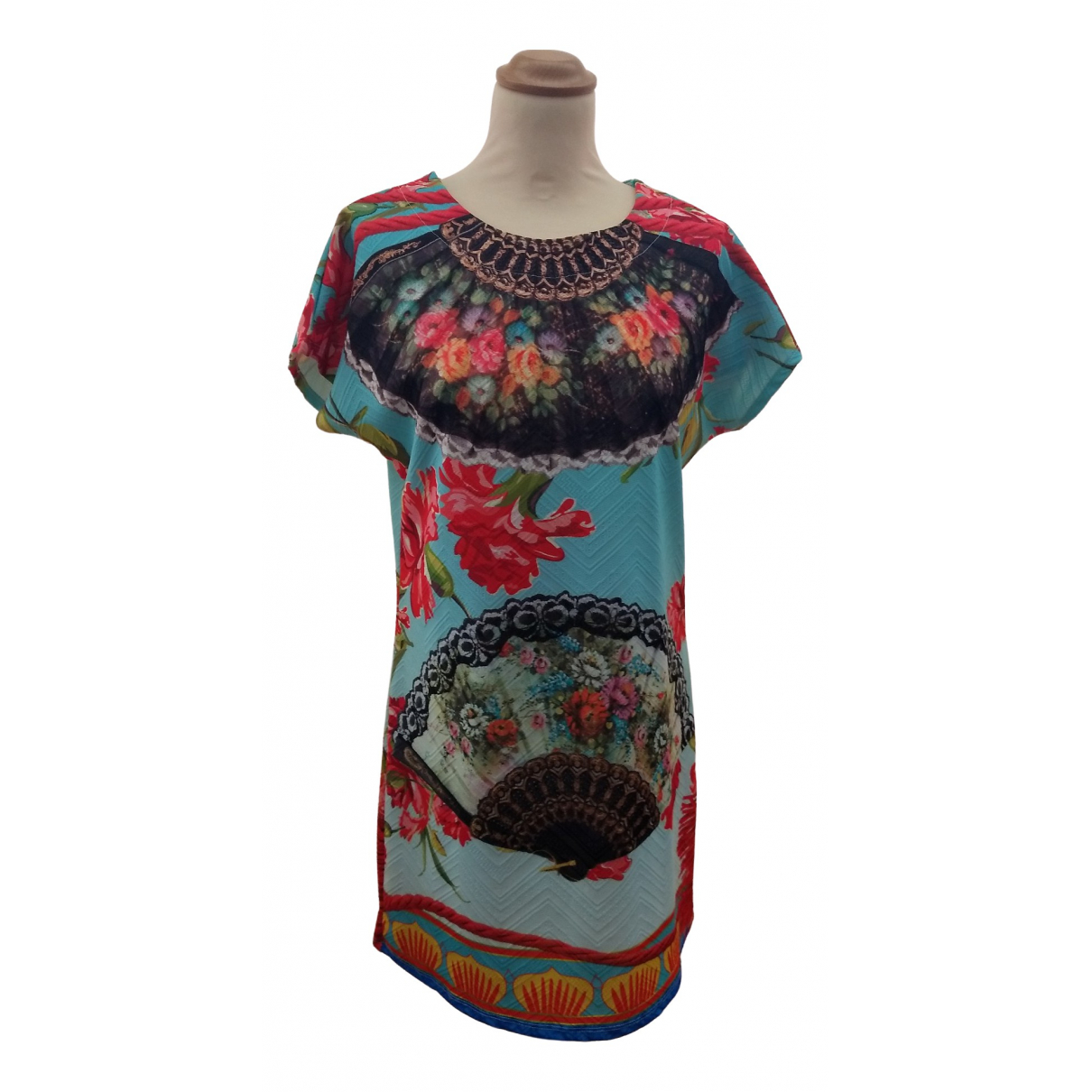 D&g \N Multicolour Cotton dress for Women M International