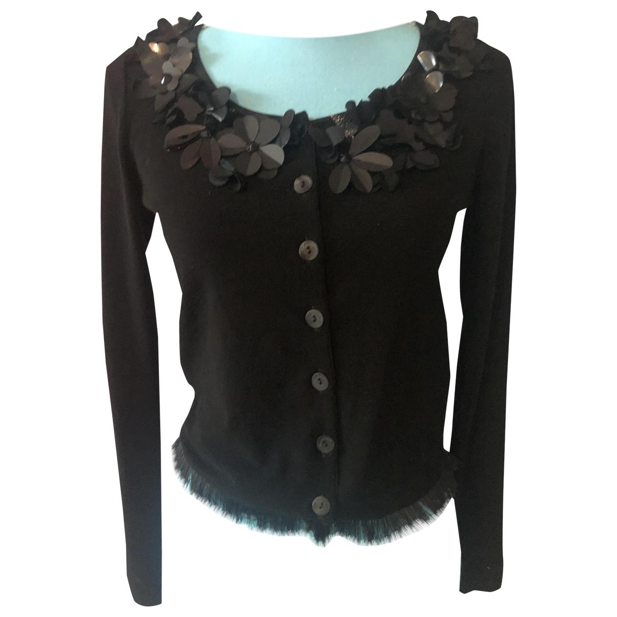 Blumarine \N Pullover in  Schwarz Polyester
