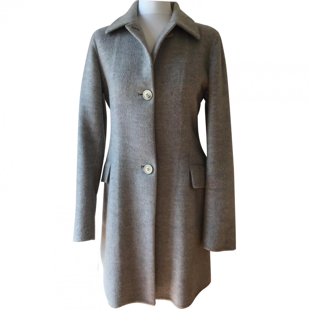Loro Piana - Manteau   pour femme en cachemire - gris