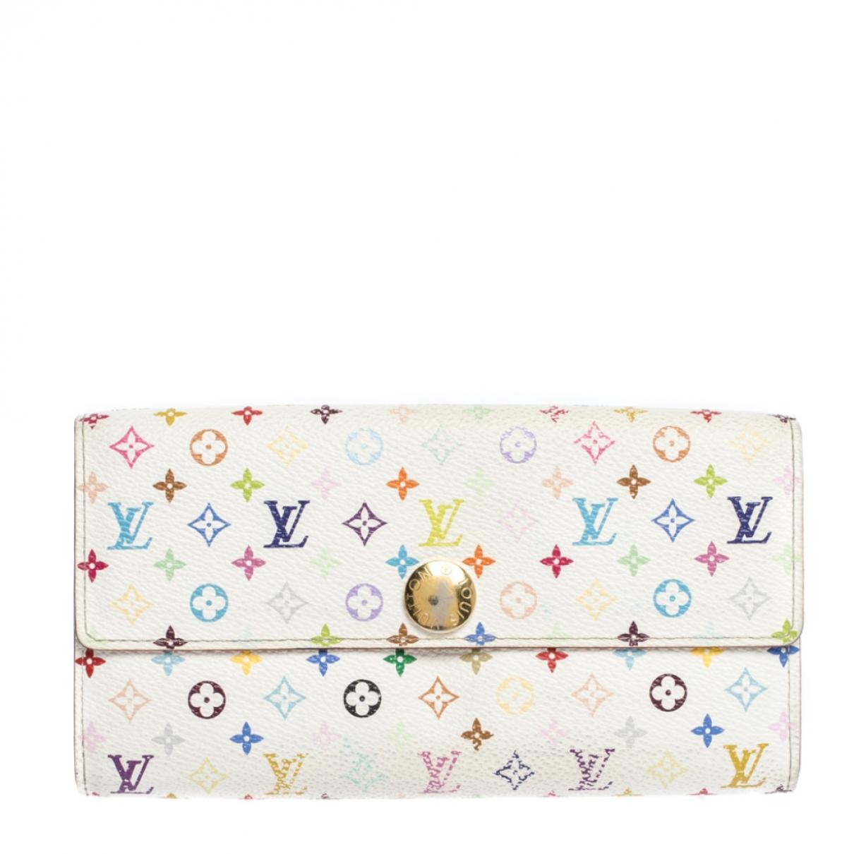 Louis Vuitton Sarah White Leather wallet for Women N