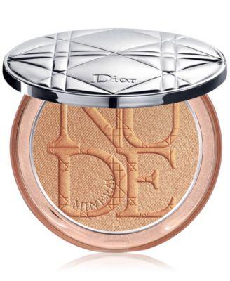 Diorskin Nude Luminizer Shimmering Glow Powder - Golden Glow (Warm gold iridescent sheen)