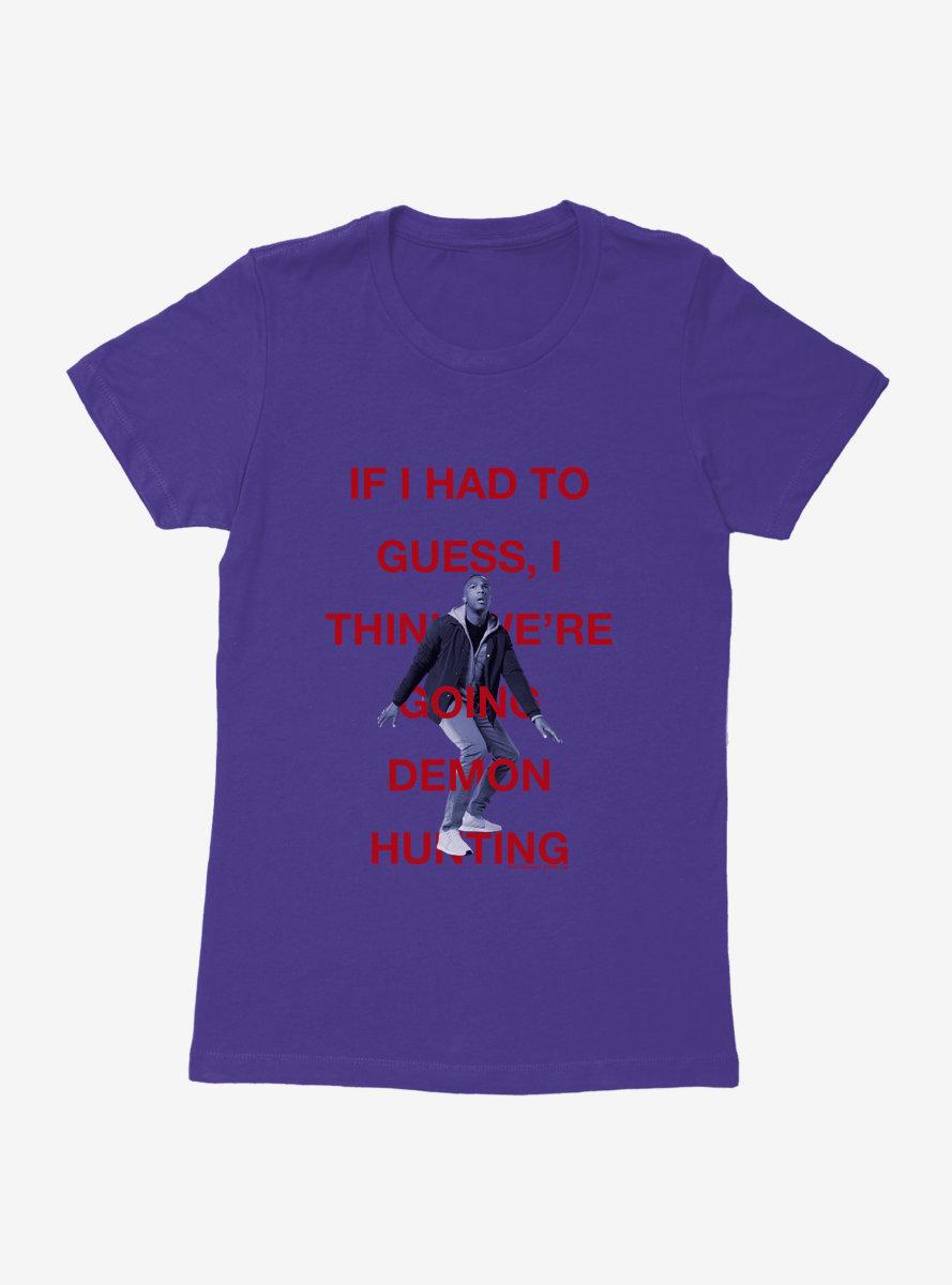 Doctor Who Thirteenth Doctor Ryan Demon Hunting Womens T-Shirt