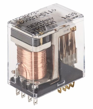 TE Connectivity 4PDT Plug In Latching Relay - 3 A, 24V dc For Use In Signal Applications