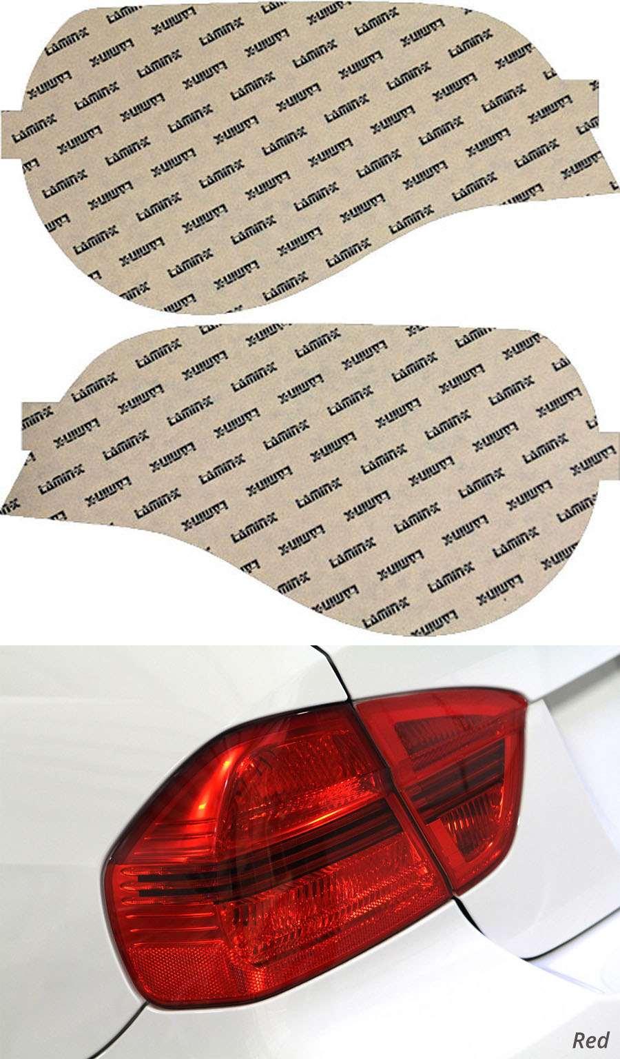 BMW Z4 & Z4M 06-08 Red Tail Light Covers Lamin-X B209R