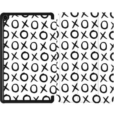 Amazon Fire 7 (2017) Tablet Smart Case - Love XO White von Amy Sia