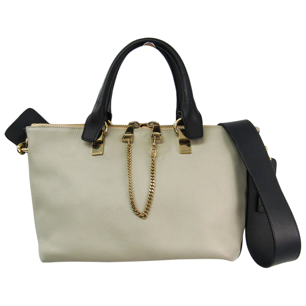 Chloé Baylee Beige Leather handbag for Women N